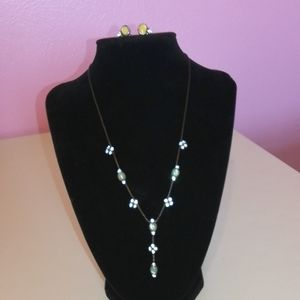 1928 Necklace and Earrings Set